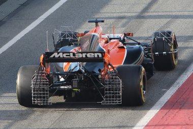 Detail McLaren-Honda MCL32 met sensoren - Stoffel Vandoorne
