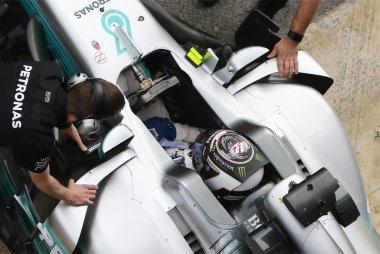 Detail Mercedes W08 EQ Power+ - Valtteri Bottas