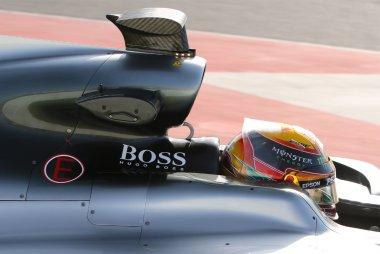 Detail Mercedes W08 EQ Power+ - Lewis Hamilton