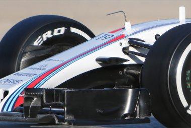 Detail neus Williams FW40