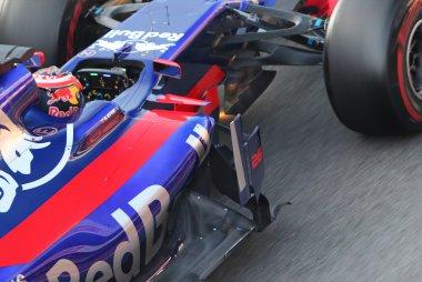 Detail Toro Rosso STR12 - Merk licht onder neus op