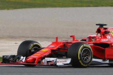 Detail Ferrari SF70H