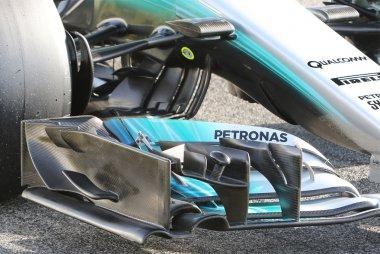 Detail voorveugel Mercedes W08 EQ Power+