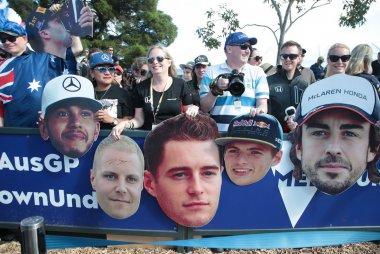 Hamilton, Bottas, Vandoorne, Verstappen & Alonso