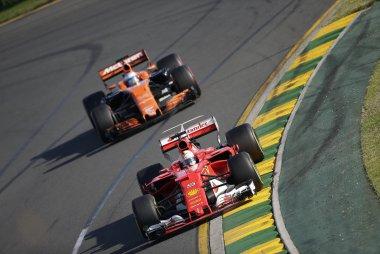 Sebastian Vettel & Fernando Alonso - Ferrari & McLaren