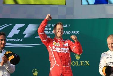 Sebastian Vettel - Winnaar F1 GP Australië 2017