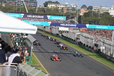 Start F1 GP Australië 2017