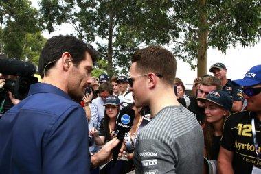 Mark Webber interviewt Stoffel Vandoorne