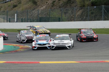 start TCR Benelux Trophy race