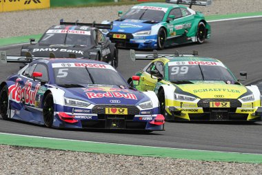 Mattias Ekström (Audi Sport Team Abt Sportsline) & Mike Rockenfeller (Team Phoenix)