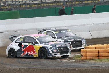 Toomas Heikkinen (Audi) & Reinis Nitiss (Audi)