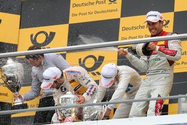 Podium Race 1 DTM Hockenheim I 2017