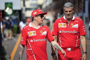Kimi Räikkönen & Maurizio Arrivabene