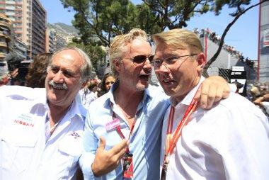 Eddie Irvine en Mikka Häkkinen