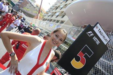 Grid Girl 2017 F1 Monaco GP
