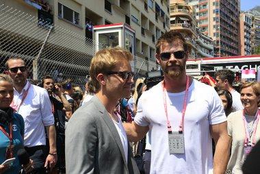 Nico Rosberg en Liam Hemsworth