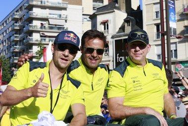 Mathias Lauda, Pedro Lamy en Paul Dalla Lana