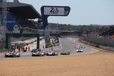 Start 2017 24 Hours of Le Mans