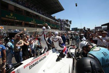 Porsche Team - Porsche 919 Hybrid, winnaar 2017 24 Hours of Le Mans