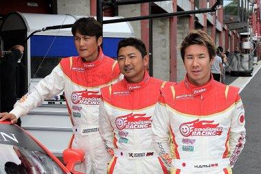 Nobuteru Taniguchi, Tatsuya Kataoka en Kamui Kobayashi