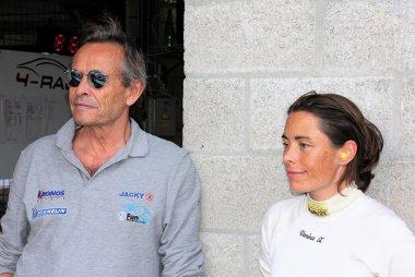 Jacky Ickx en Vanina Ickx
