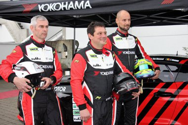 Chris Van Woensel, Oliver Hermans en Tom Boonen