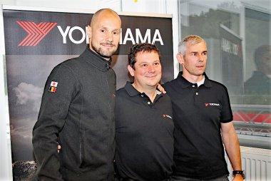 Tom Boonen, Oliver Hermans & Chris Van Woensel