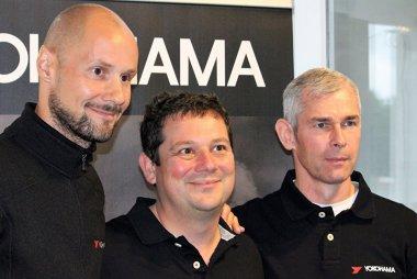 Tom Boonen, Oliver Hermans en Chris Van Woensel