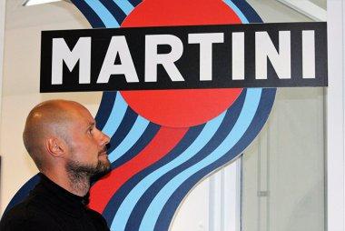 Tom Boonen in de Martini Lounge