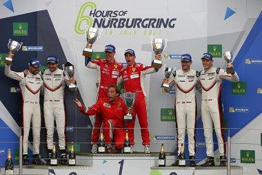 2017 WEC 6 Hours of Nürburgring Podium LMGTE Pro