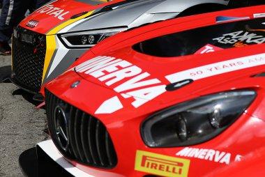 AKKA ASP vs. Belgian Audi Club Team WRT - Mercedes-AMG GT3 vs. Audi R8 LMS