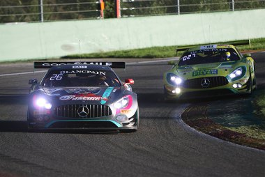 Good Smile Racing & Team UKYO vs. MANN-FILTER Team HTP Motorsport - Mercedes-AMG GT3
