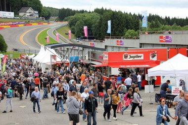 Sfeerbeeld fandorp 24 Hours of Spa 2017