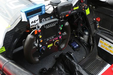 Cockpit McDonald's Racing