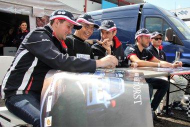 BMW Team van der Horst renners