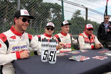 Tim Joosen, Sam Dejonghe, Thomas Piessens en Luc De Cock