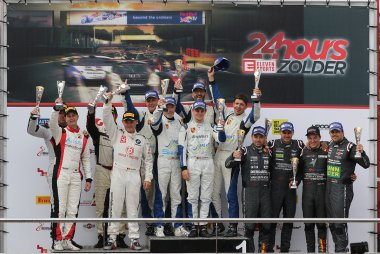 Podium Belcar 1 2017 24 Hours of Zolder