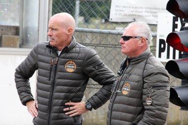 Hans Van de Ven (links)