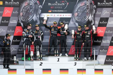 Podium Qualifying Race Nürburgring 2017