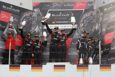 Podium 2017 BGTS Sprint Cup Nürburgring Main Race