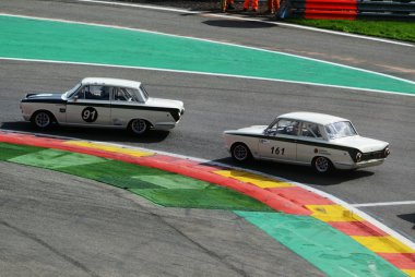 Martin Strommen & Letts/Letts - Ford Lotus Cortina