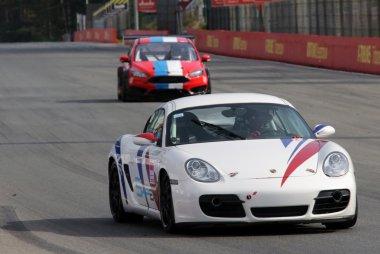 Nicolas Van Dierendonck - Porsche Cayman