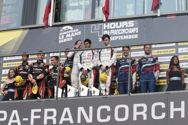 Algemeen Podium 2017 ELMS 4 Hours of Spa