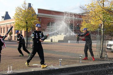 Ceremonie piloten Nascar Whelen Euro Series Elite Club