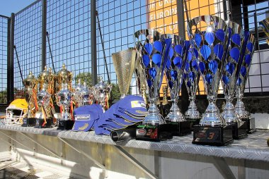 Trofeeën 2017 Nascar Whelen Euro Series American Finals