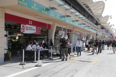 Pitlane FIA WEC 6H Bahrein 2017