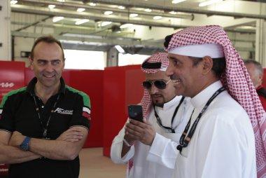 Amato Ferrari & Salman bin Isa Al Khalifa