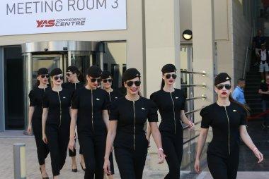 Grid Girls Abu Dhabi