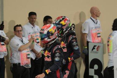 Max Verstappen en Daniel Ricciardo