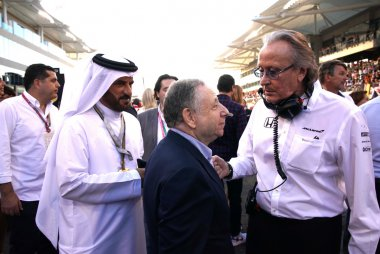 MOhammed Ben Sulayem  Jean Todt Mansour Ojjeh
